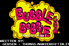 Thumbnail 1 for Bubble Bobble GBA
